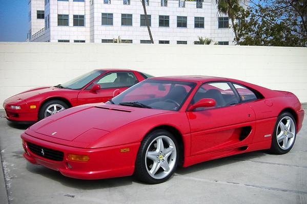 Jason's Ferrari 355 GTS