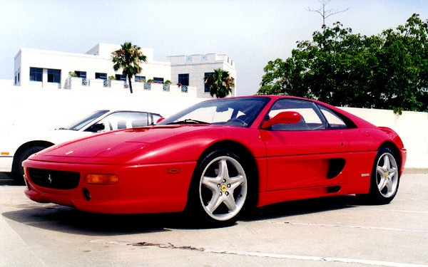Jason's first Ferrari, a 355 GTS, was not only the first Ferrari I ever rode in, but also the first I ever drove (felt similar to my NSX, but sounded a lot faster and had a much firmer clutch) (Fall, 1998)