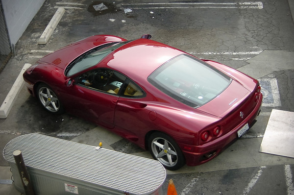 I see this Ferrari 360 Modena almost every day.  Technically I should not include it in this gallery because it is not owned by one of the Dogs