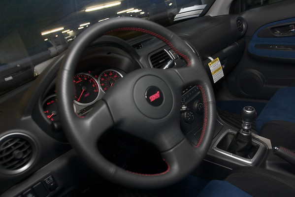 Here's a look inside the STI