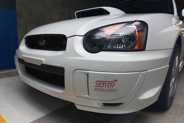 Paul's new WRX STI