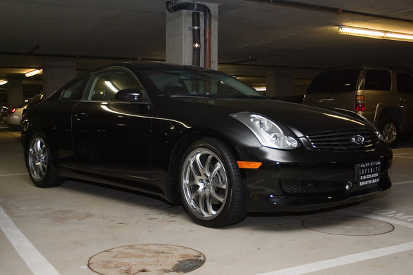 One of our artists just picked up this 2006 G35