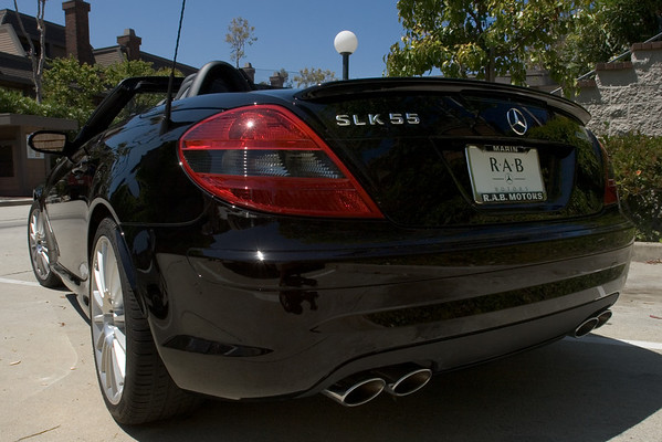 But, as you can see, this is the SLK 55...