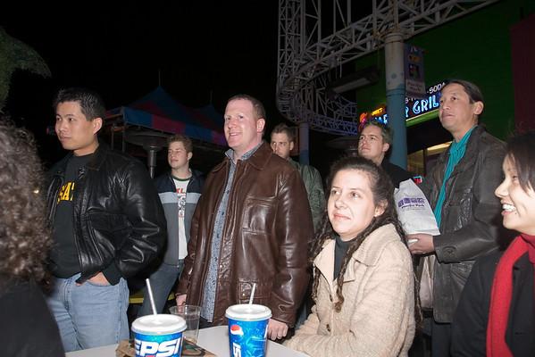 Mal, Scott, Andy, Keith, Sharon, Ben, Greg, Val