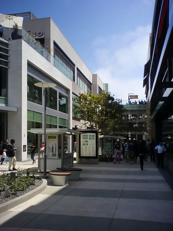 This is where Charlie's used to be located...the new Santa Monica Place looks totally different