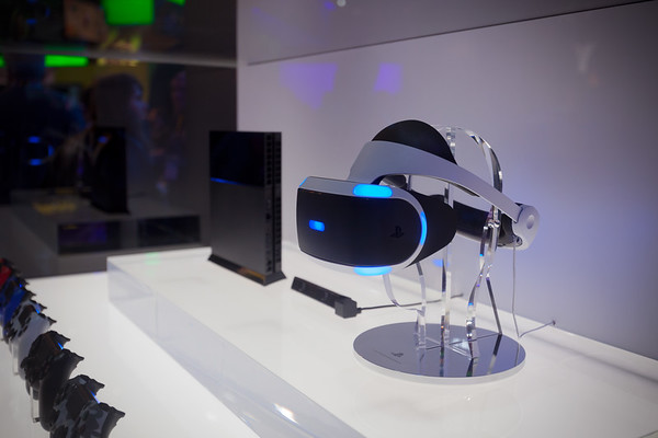 Project Morpheus is coming in 2016, so Sony has the production version of their PS4-exclusive virtual reality headset on display