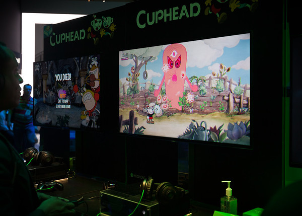 The Xbox One / PC game Cuphead nails the visual style of Silly Symphony style animated shorts...even has the right amount of film grain, dust, and scratches to complete the illusion of watching a 1930's era cartoon.