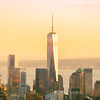 New York City -1 WTC - Sunset View from Midtown