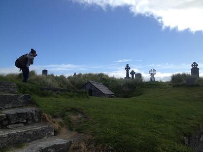 Shooting the graveyard at Inisheer Island