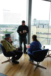 Gravity Bar (7th level) at Guinness brewery, Dublin
