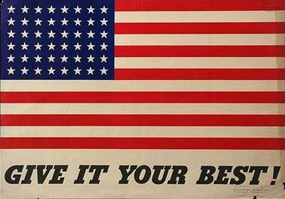 Old Glory!  Give it your best!