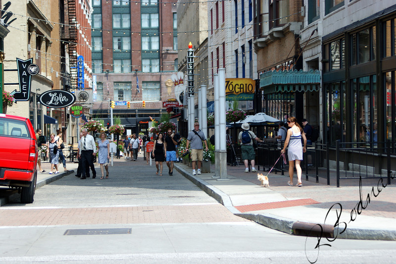Photo By Bob Bodnar.............................................East 4Th. St. coming alive....