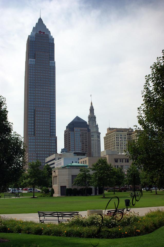 Photo By Bob Bodnar....................................Cleveland Skyline