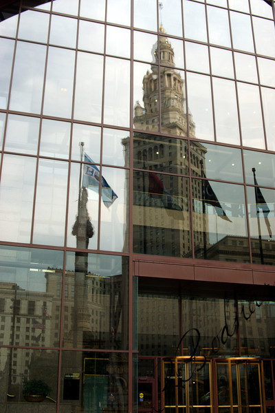 Photo By Bob Bodnar..................................................Reflection of Public Square