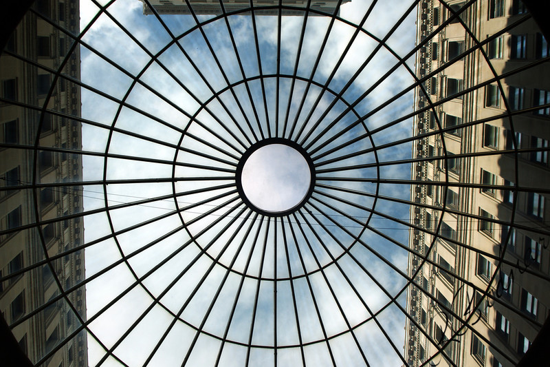 Photo By Bob Bodnar...................................................... View from Atrium Skylight
