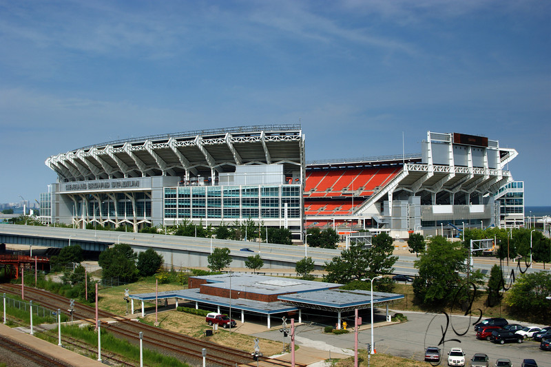 Photo By Bob Bodnar.............................................Cleveland Browns Stadium