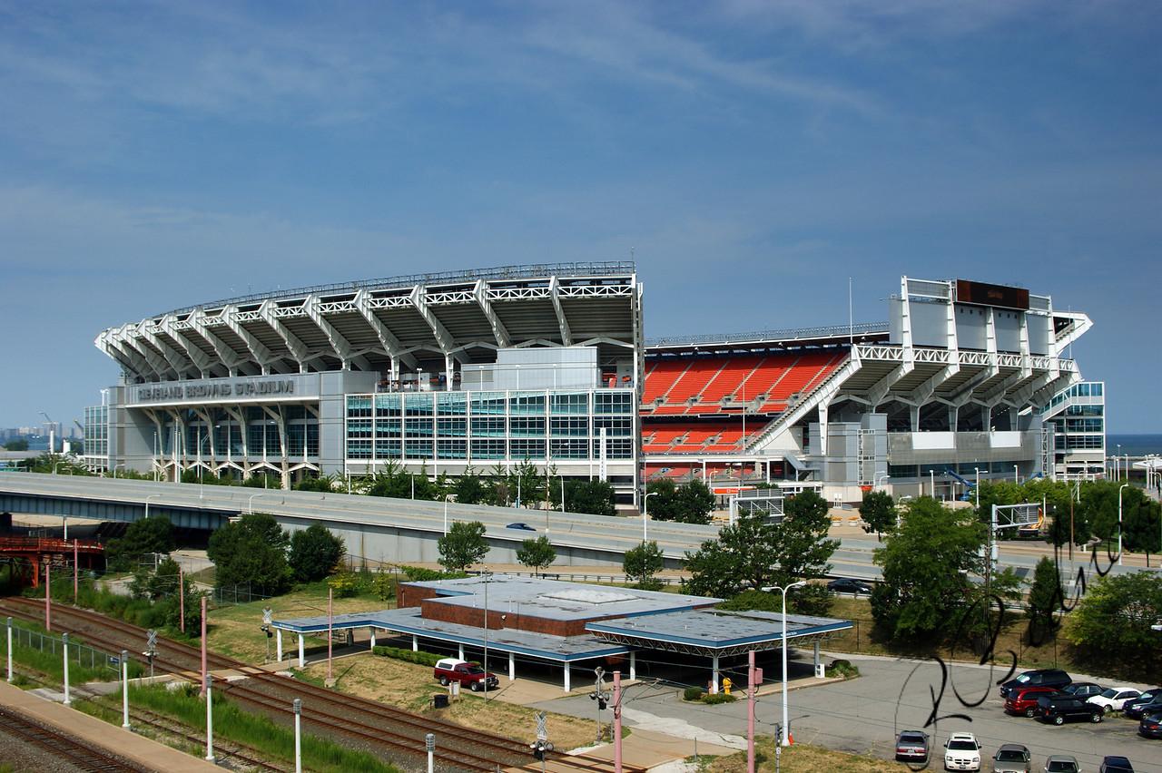 Photo By Bob Bodnar.............................................Cleveland Browns Stadium