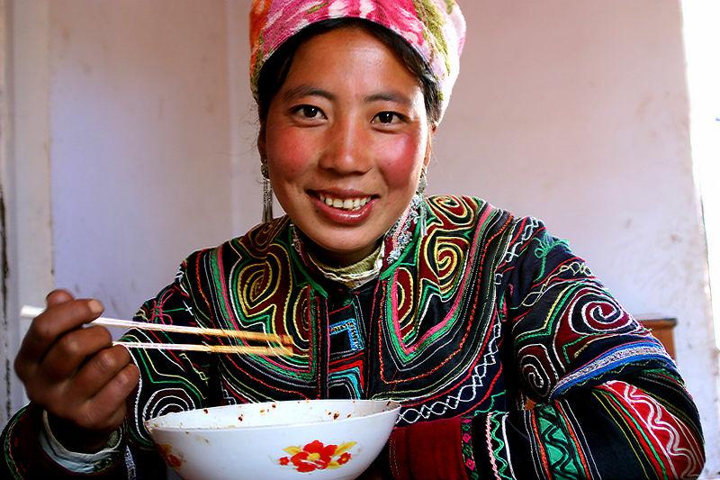Yi Girl-Jiefang