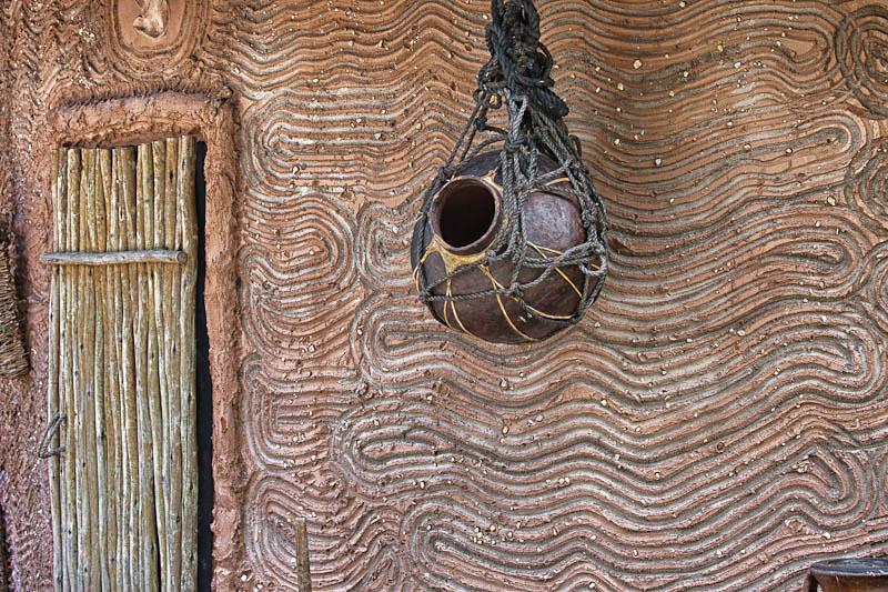 Detail of Safari Hut