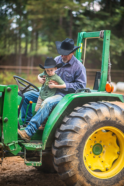 Wyatt and tractor-1611