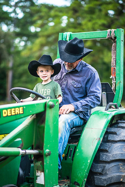 Wyatt and tractor-1601