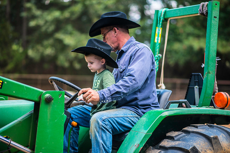 Wyatt and tractor-1634