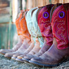 Cowboy Boots, Shell, Wyoming