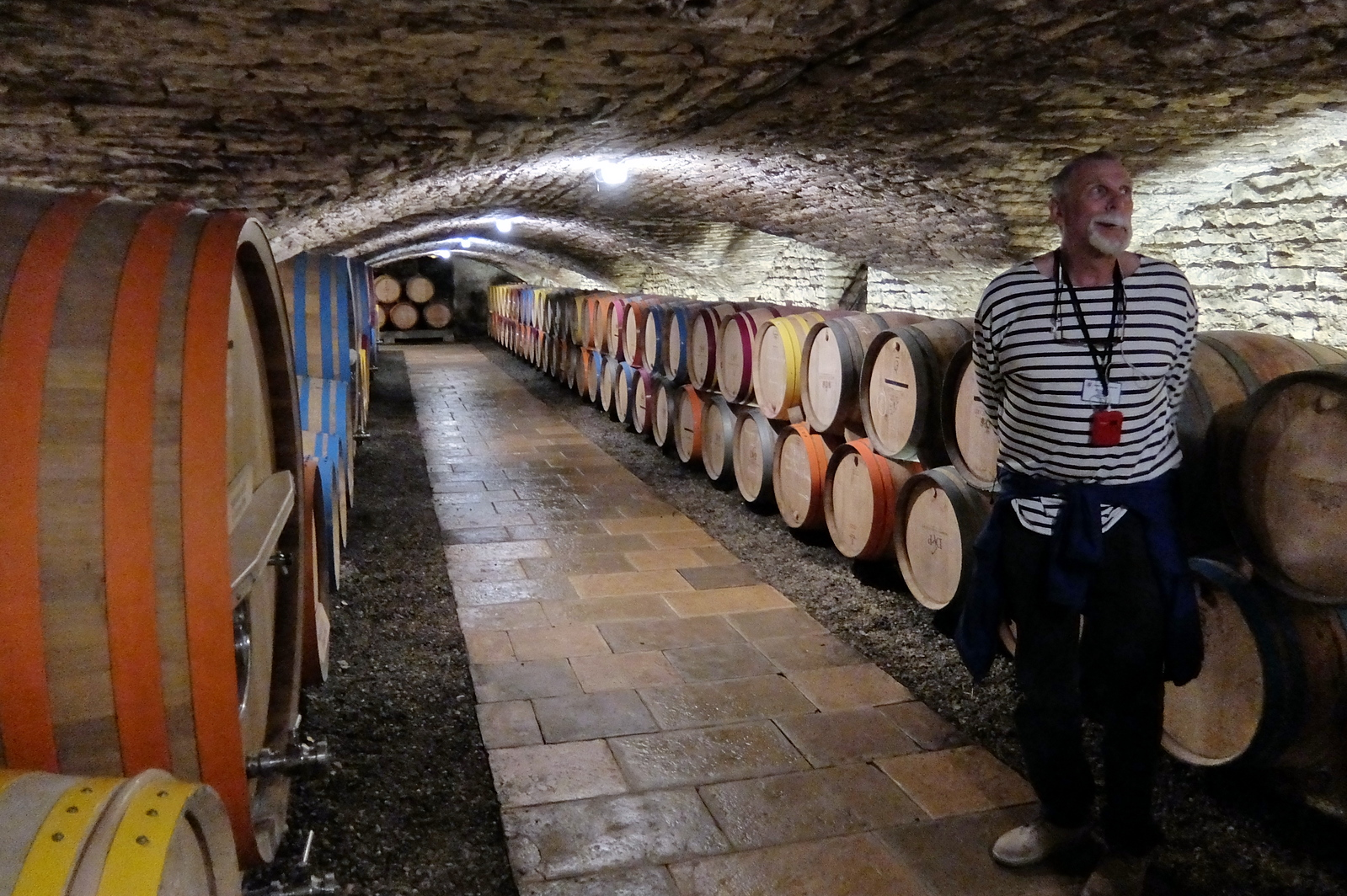 14th century wine cellars