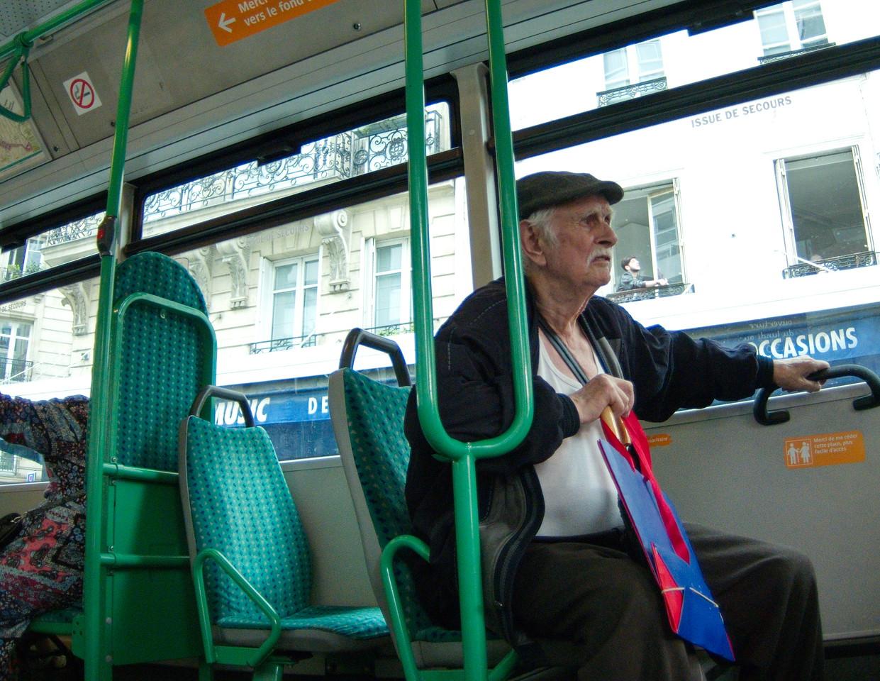 local bus rider