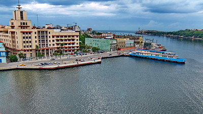 Harbor of Havana - One of the most polluted harbors in the world.