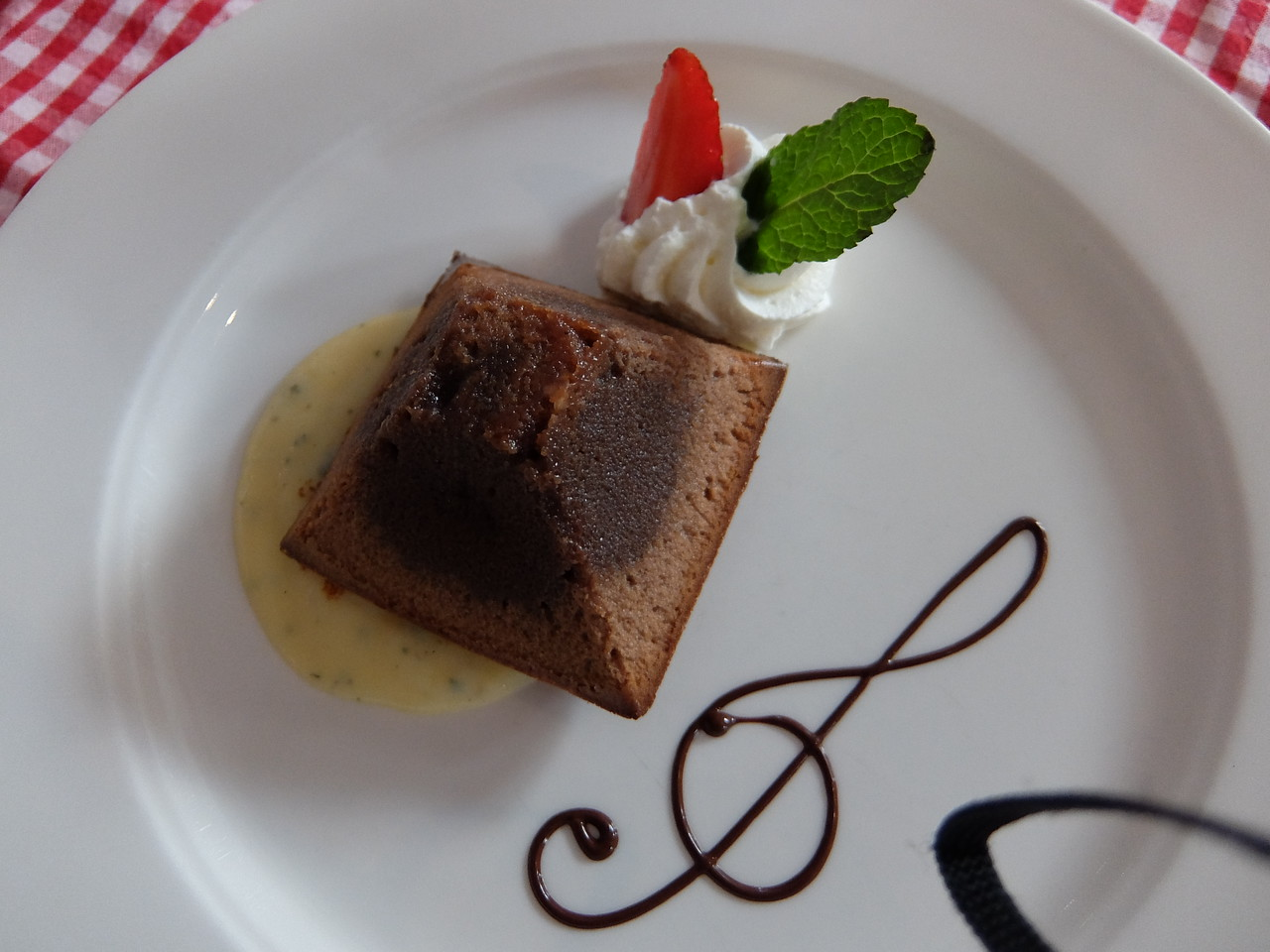 another beautiful dessert on M/S Provence