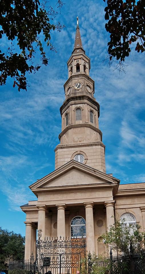 St. Philips Church, Charleston. Charleston, South Carolina. 2015.