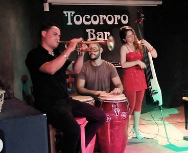 Tocororo Bar offers great music, cigars, rum and coffee.