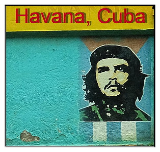 Che Guevara still lives on in wall posters