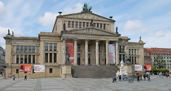 The Konzerthaus Berlin is a concert hall situated on the Gendarmenmarkt square in the central Mitte district of Berlin housing the German orchestra Konzerthausorchester Berlin.
