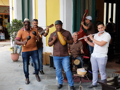 See next file for video of  Cuban  music in the Plaza de Armas, one of the renovated areas  resulting from the more open government