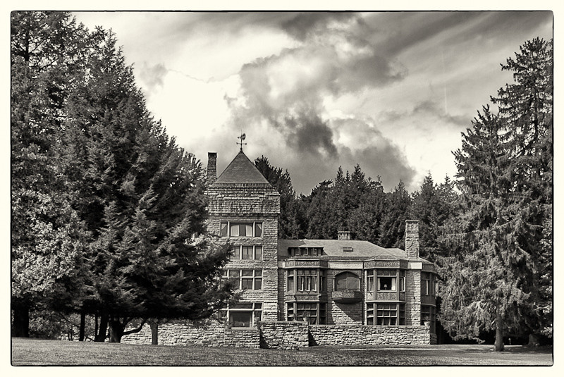"Yaddo - Spencer & Katrina Trask mansion - a Tudor ""castle"" completed in 1893."