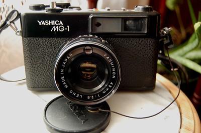 Yashica MG-1 Test