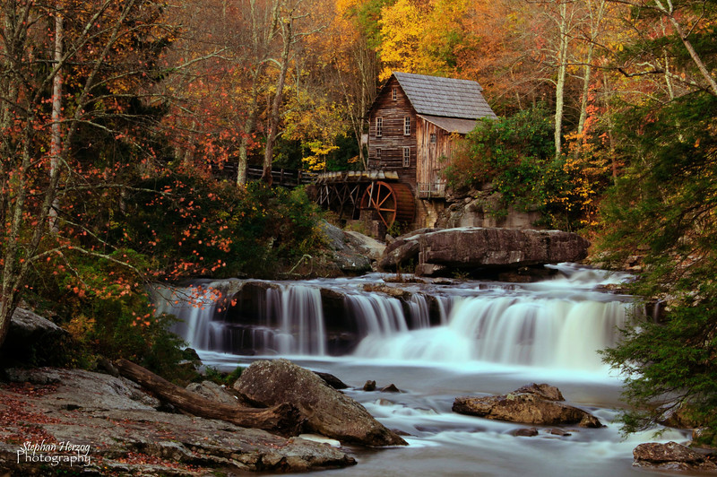 Glade Creek Grist Mill<br /> Babcock State Park<br /> Danese, Wva