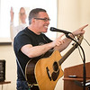"Steve Angrisano played music between group sessions during the ""One Bread, One Cup"" Youth Liturgical Leadership Conference."