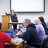 Dr. Christine Hernandez taught a Graduate Theology course on Modern Church History during the spring weekend courses.