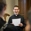 "Fr. Eric Augenstein taught a liturgical leadership session on liturgy and word during the ""One Bread, One Cup"" youth conference in June."