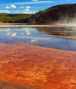 Grand Prismatic Spring Reflections