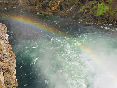 Rainbow at Lower Yellowstone Falls