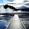 Morning in Yellowstone National Park in Wyoming 9