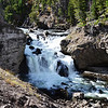 Small Waterfall in Yellowstone National Park