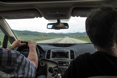 On the road with Sheldon and Marty to Yellowstone