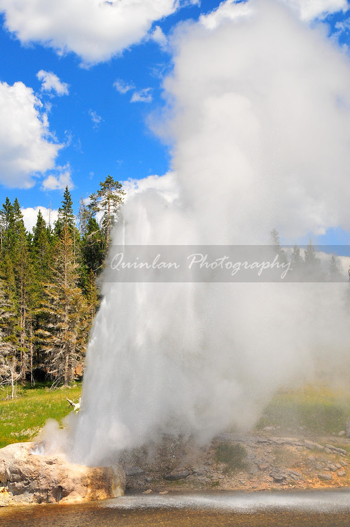 Yellowstone national park. One of the most unique national parks in the world and also one of the most diverse with boiling geysers and astonishing landscapes.