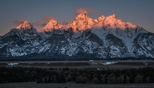 Sunrise - Grand Teton Range