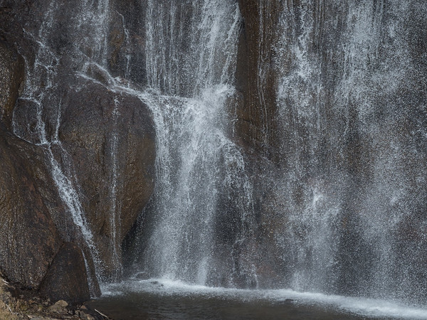 Base of Gibbon Falls